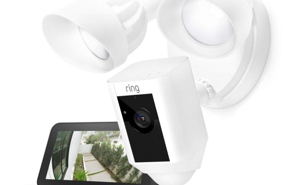 Prime members: Ring floodlight camera + Echo Show 5 for $190