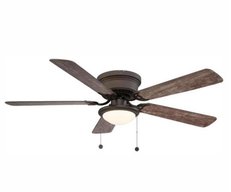 Hugger 52-inch LED ceiling fan for $40