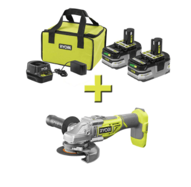 Get a FREE Ryobi tool or battery with Ryobi tool kit purchase