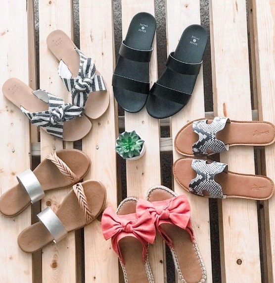 Today only: Buy one, get one FREE sandals