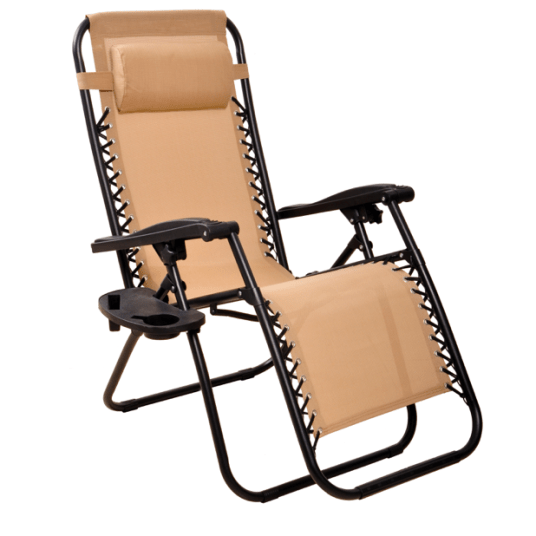 Everyday Essentials adjustable zero gravity recliner for $40