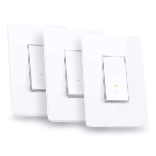 TP-Link Kasa smart Wi-Fi light switch 3-pack for $45