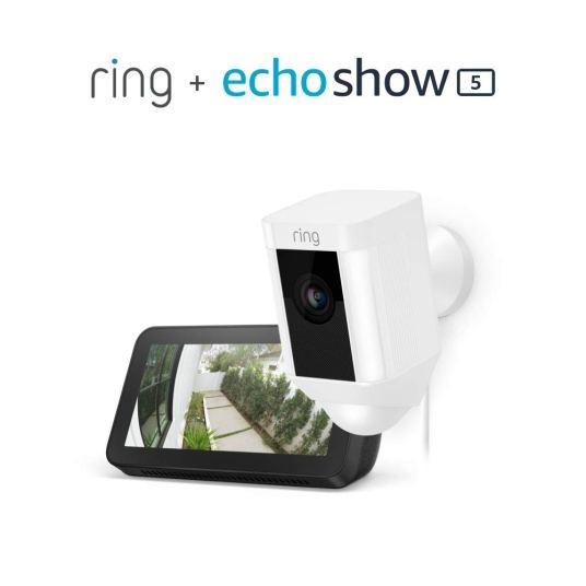 Ring Spotlight Cam + Amazon Echo Show 5 for $159