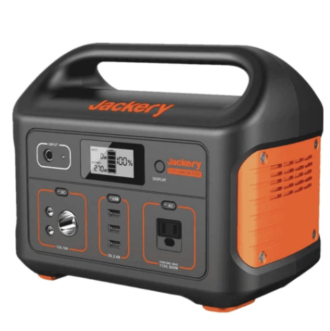 Save $100 on the Jackery Explorer 500 solar-powered generator