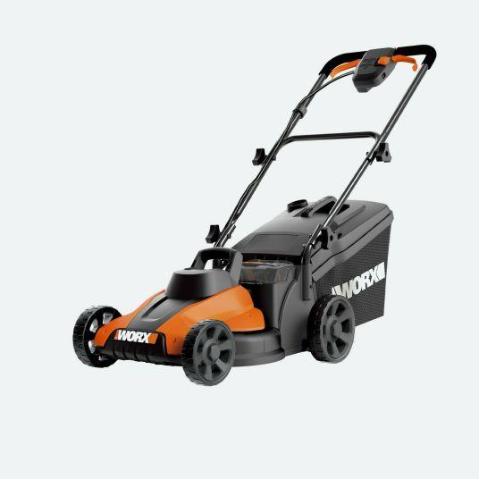 WORX WG778 13″ 20V cordless mower for $169