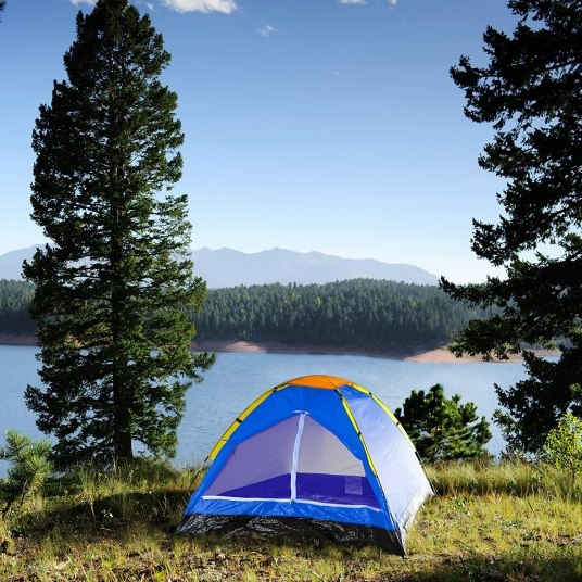 Happy Camper 2-person tent for $19 at Amazon or Walmart