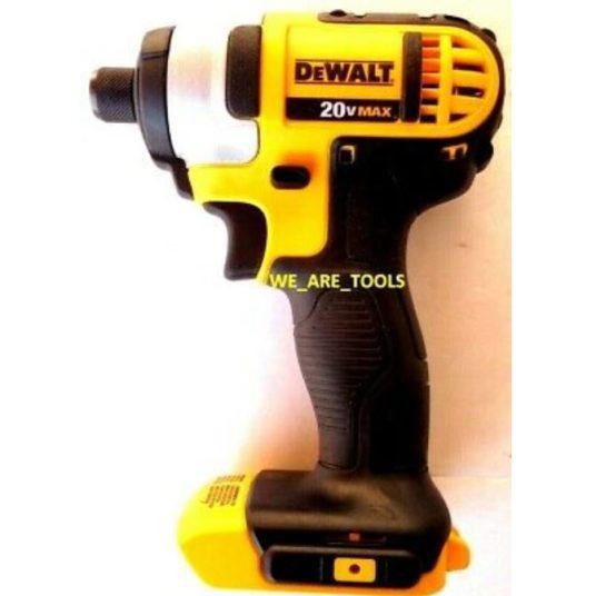 Dewalt 20-volt max cordless 1/4″ impact driver for $70