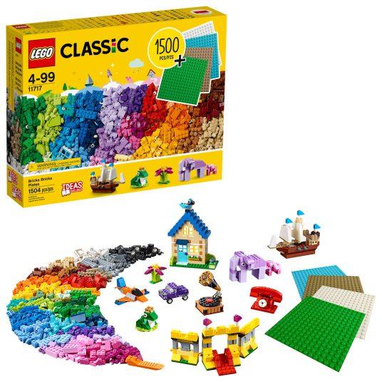 LEGO Classic 1,504-piece Bricks Bricks Plates for $40