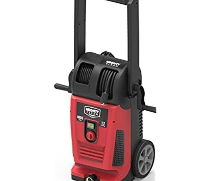 Today only: Yard Force Mighty Clean 1800PSI electric pressure washer for $88