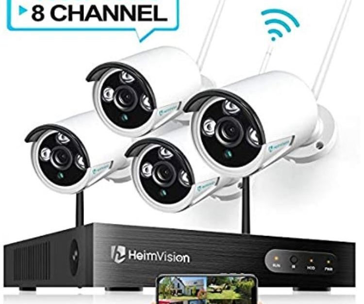 Today only: HeimVision 1080P wireless security 4-camera system for $150
