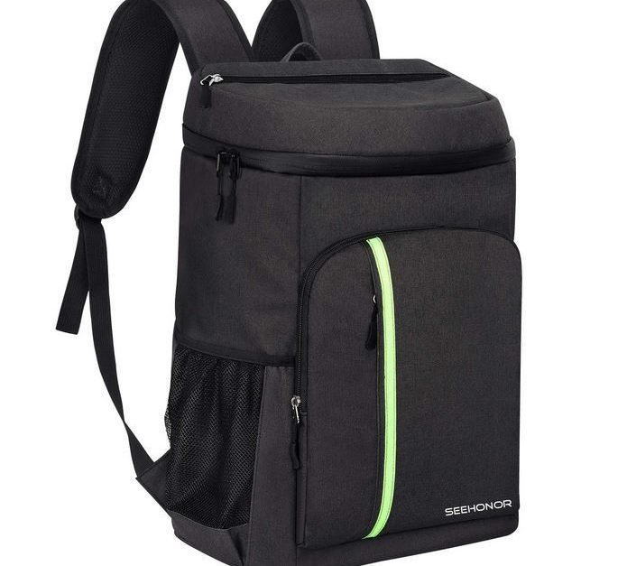 Today only: SEEHONOR insulated cooler backpack for $18