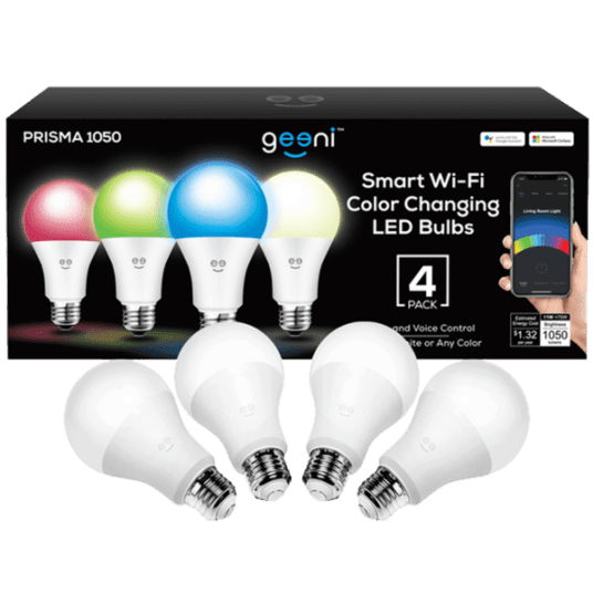 Today only: Geeni Prisma smart bulbs from $24 shipped