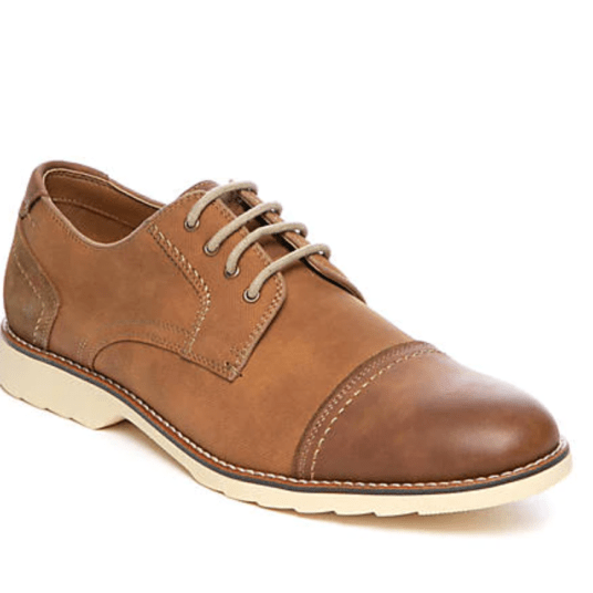 Dockers Murray cap toe Oxfords for $21