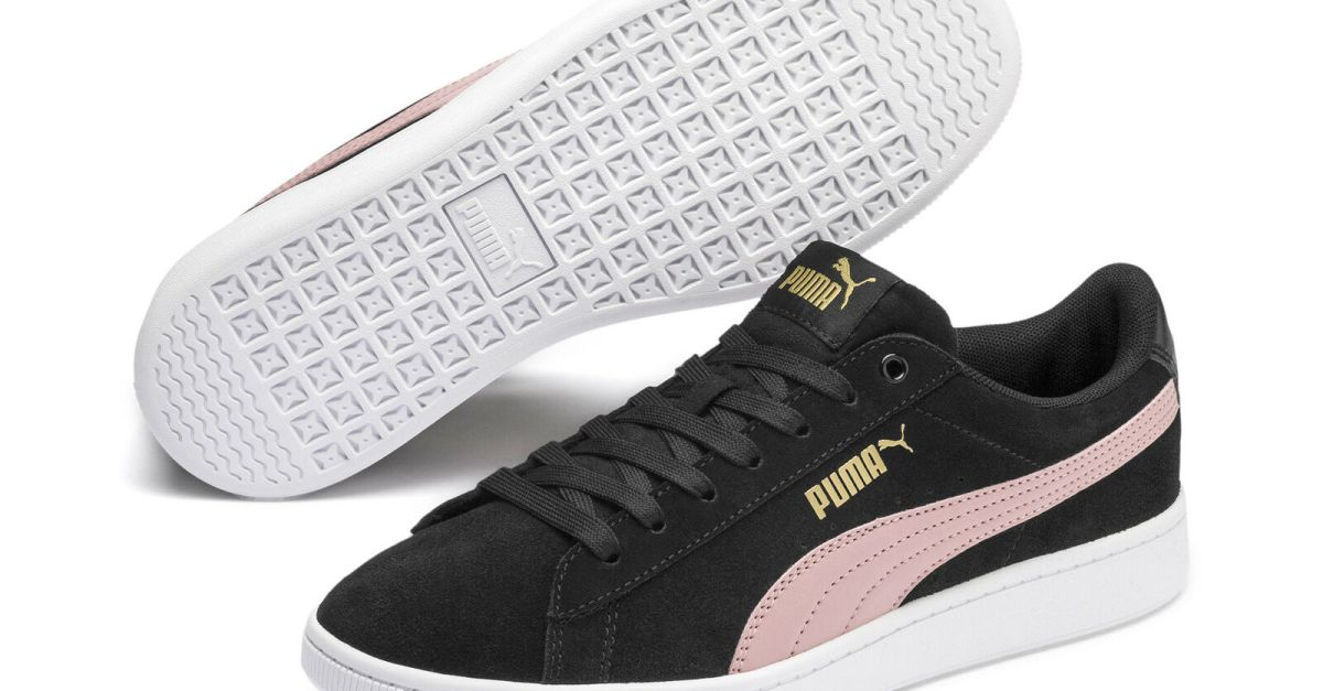 Puma Vikky V2 women's suede shoes for $20, free shipping