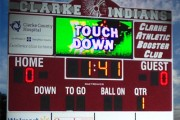 clarke indians scoreboard osceola iowa