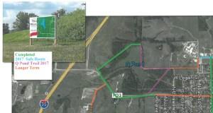 Osceola Q-Pond Park Trail Project