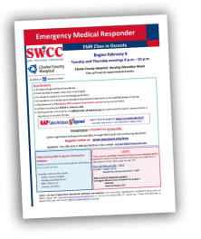 first responder classes clarke county