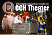 Clarke Students to be Featured in 2018 Iowa High School Theater Awards Showcase
