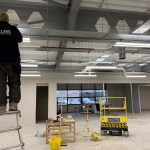 Electrical lighting system install