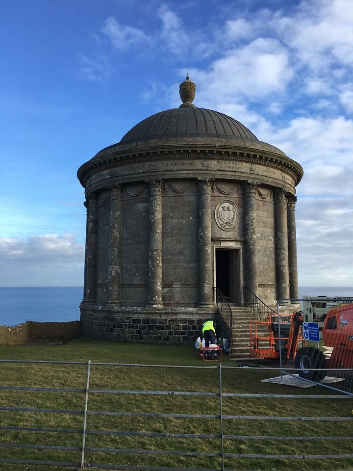 Mussenden Temple Restoration Northern Ireland