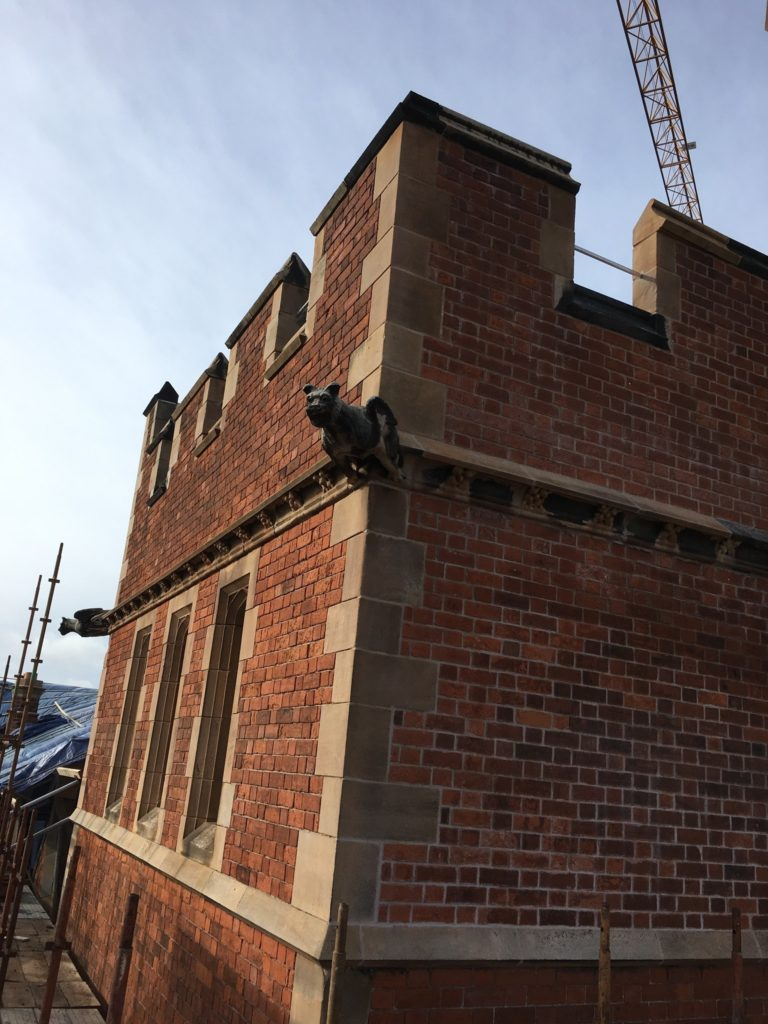 After restoration at McArthur Hall, Methody College