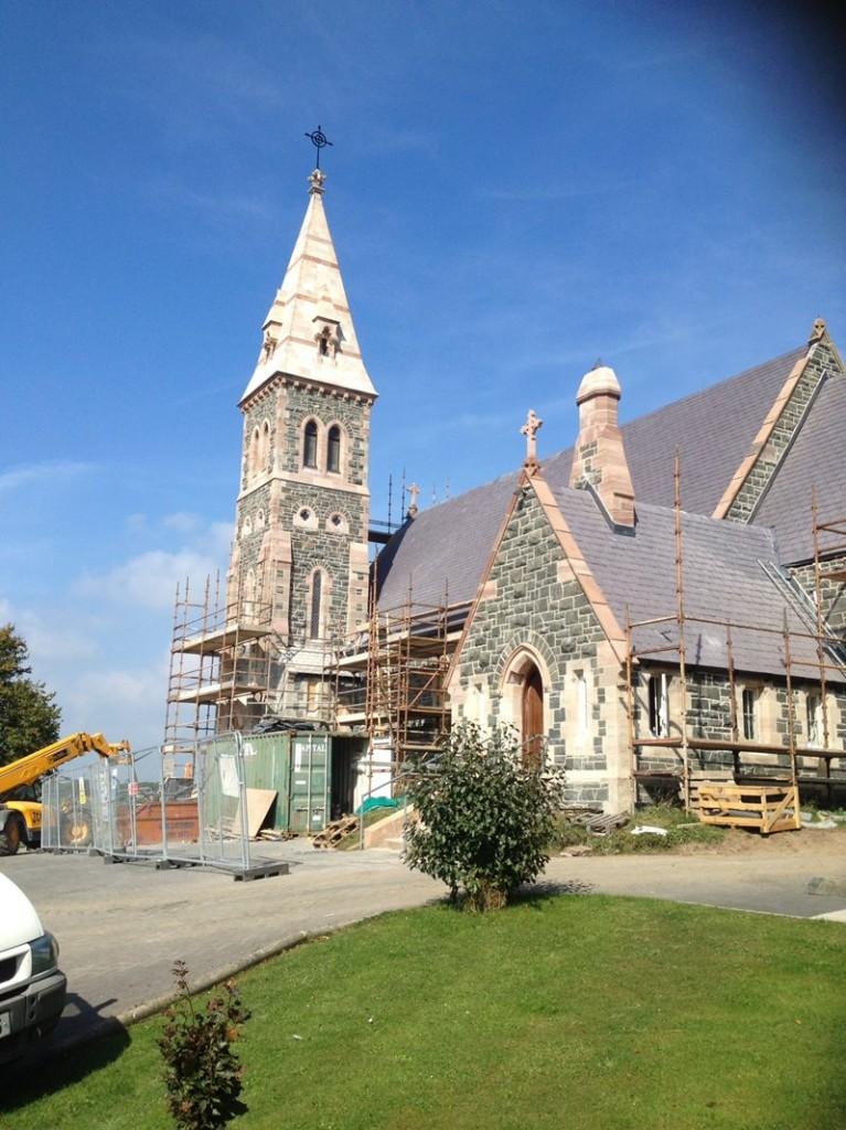 Restoration at St Joseph's Church, Ballycranbeg