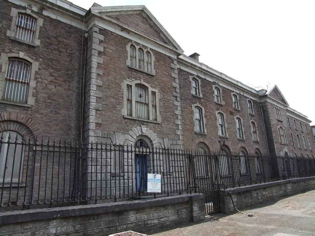 Restoration works at Armagh Gaol