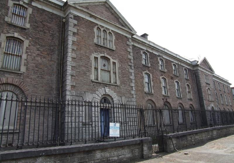 Restoration works at Armagh Gaol