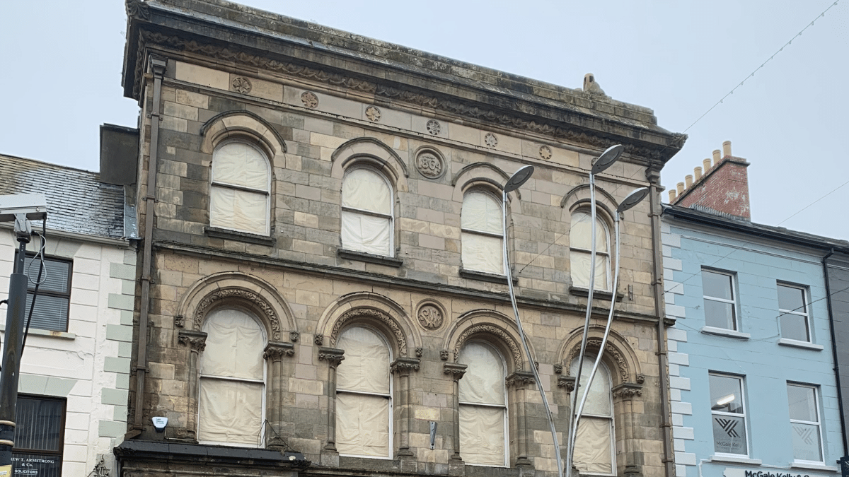 Restoration Works High Street, Omagh
