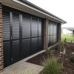 Outdoor Aluminium Plantation Shutters Clarks Blinds And