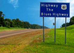 Highway 61 is a 4-lane thoroughfare from Memphis to Greenville, MS south of Clarksdale.