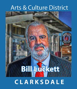 Former Mayor and Clarksdale advocate, Bill Luckett.