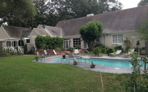 The backyard of a Clarksdale home for sale in this price range.