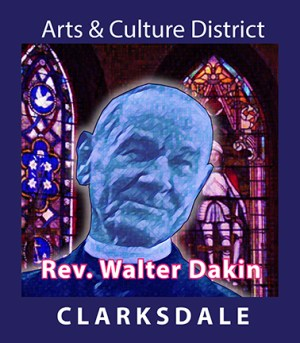St. Georges Episcopal Church Rector and Tennessee Williams grandfather, Dev. Walter Dakin.