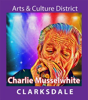 Blues harp player and Clarksdale friend, Charlie Musselwhite.