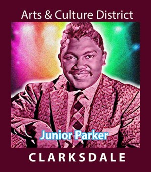 Coahoma County born singer and harp player, Junior Parker.