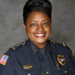 Clarksdale Police Chief, Sandra Williams.