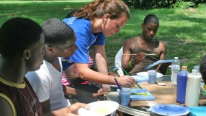 The Griot Arts Program is about creativity.