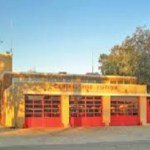 The Clarksdale Fire Station.