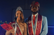 Mr. and Mrs. 2019 Coahoma Community College, Russell Furr and Jessica Haygood.