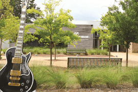 The B.B. King Museum & Interpretive Center, Indianola, MS.