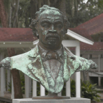 Bust of former slave and U.S. Congressman Robert Smalls.