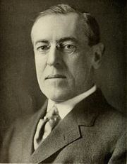 Woodrow Wilson authorizes segregation in federal government.