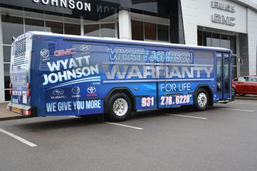 Wyatt Johnson Gmc >> Wyatt Johnson unveils CTS Bus | ClarksvilleNow.com
