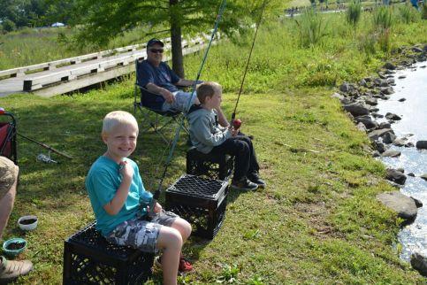 PHOTOS: TWRA Kids Fishing Rodeo | ClarksvilleNow.com