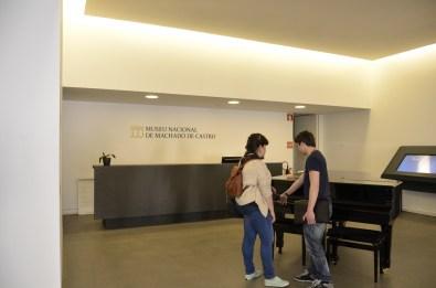 Hall do Museu.