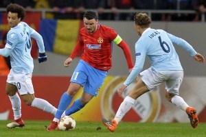 Europa League, șaisprezecimi de finală: FCSB – Lazio 1 – 0