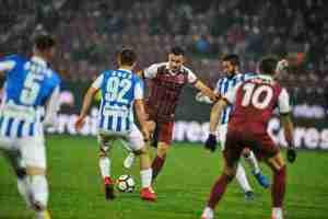 Liga 1, play off, etapa 1: CFR Cluj – CSM Politehnica Iaşi 2 – 1