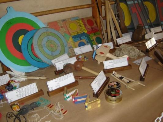 Fotografías Exposición Juegos Tradicionales