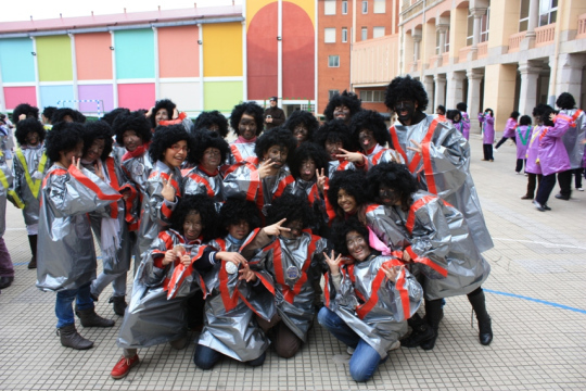 "Cantamos a ritmo de ""Gospel"" al carnaval"